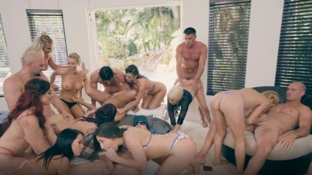 Grup Anal Oral Evde Sex Partisi Veren Brazzers Yıldızları
