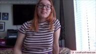 Kızıl Saçlı Üniversiteli Kız Kontrolsüz Sikişle Tanıştı