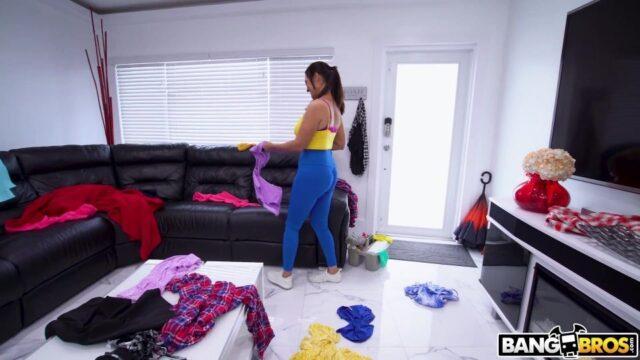 Ev Toplayan Kadına Saldırdı